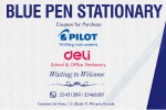 Blue Pen Stationery - Pilot Pen - Kuwait