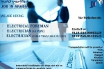    ELECTRICAL FOREMAN    ELECTRICIAN (GI PIPE/CABLE TRAY)