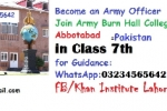 FREE Guide - Cadet Colleges in Pakistan