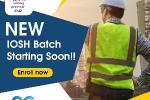 New IOSH Batch starting soon in Salmiya, Jleeb & Mangaf