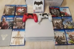 Sony PS4 1TB Pro Console with 8 games KWD 46