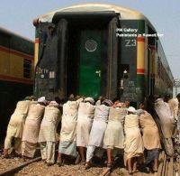 public_pushing_train