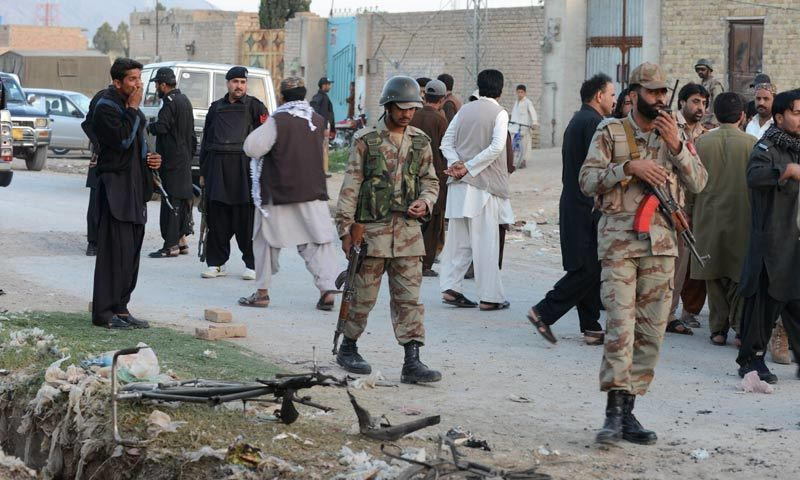 7 soldiers martyred in terrorist 'fire raid' on FC post in Balochistan's Harnai: ISPR