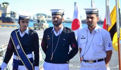 Press Briefing of PNS Tariq at Shuaikh Port on 1-Feb-2015
