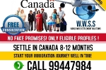 Live and Work permanently with all benefits in Canada or Aus